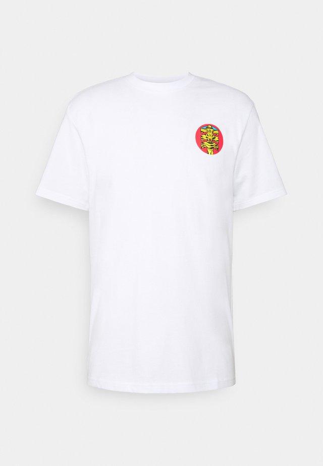 ASAR - T-shirt z nadrukiem - optic white