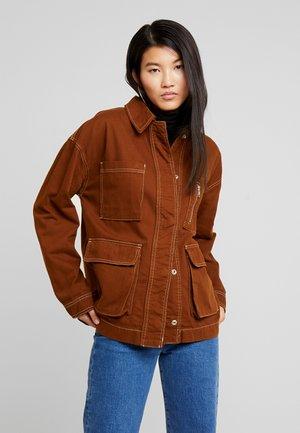 FREYA SHACKET - Summer jacket - brown