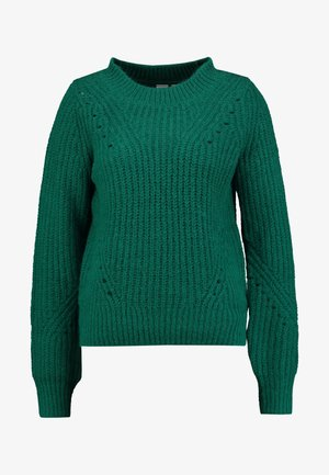 BRUSHED CREW - Jumper - going green