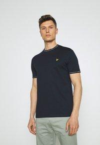 Lyle & Scott - SEASONAL BRANDED - Basic T-shirt - dark navy - 0