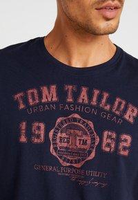 TOM TAILOR - BASIC 2 PACK - Printtipaita - sky captain blue - 5