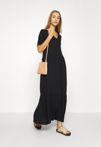 Vero Moda - VMMITSI V-NECK ANCLE DRESS - Maxi dress - black - 1