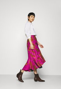 Farm Rio - MIXED JUNGLE SKY WRAP SKIRT - Pencil skirt - multi - 3