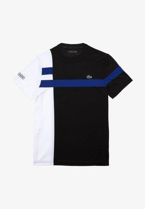 TH2070 - Print T-shirt - noir / blanc / bleu / noir