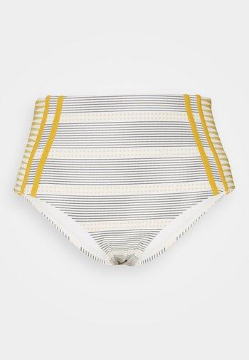 SALTY DAZE HIGH WAISTED GOOD PANT - Bikini bottoms - gold