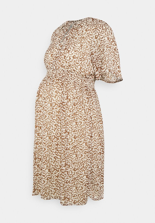 DRESS NURS SAVONA - Robe d'été - brown