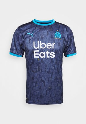 OLYMPIQUE MARSAILLE AWAY REPLICA - Club wear - peacoat/bleu azur
