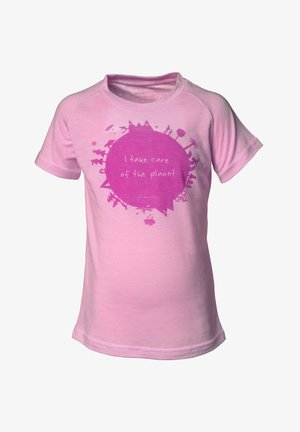 EARTH - T-shirt med print - frost pink