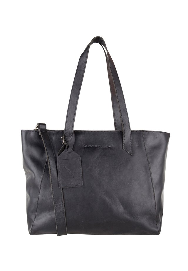 JENNER - Shopping bag - black
