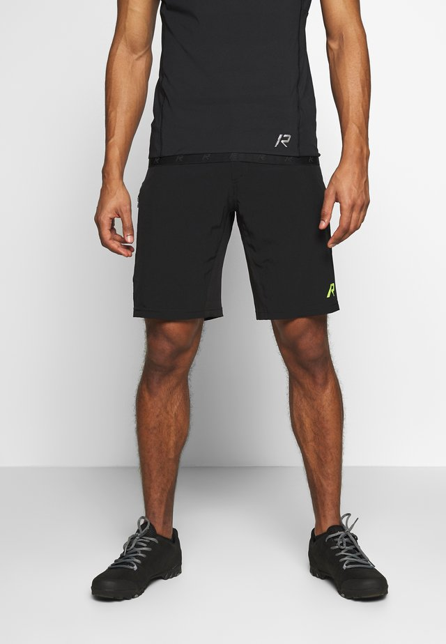 RAINIO 2-IN-1 - Sports shorts - black