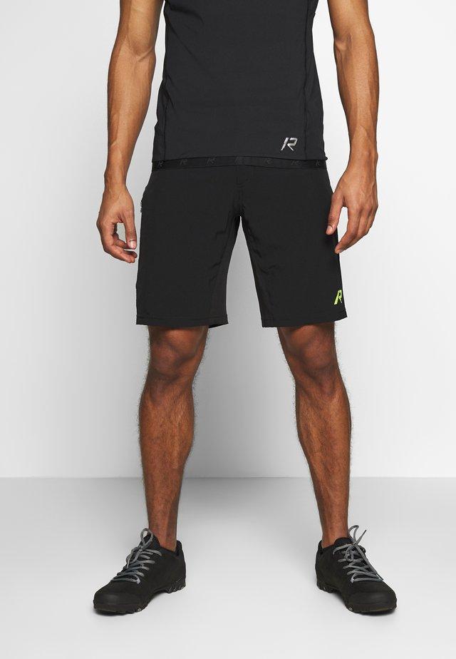 RAINIO 2-IN-1 - Pantaloncini sportivi - black