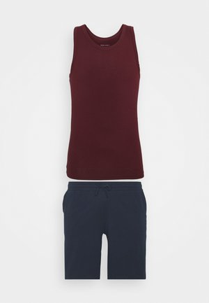 Pyjama - bordeaux/dark blue