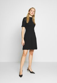 Anna Field - BASIC - Jersey dress - black - 1
