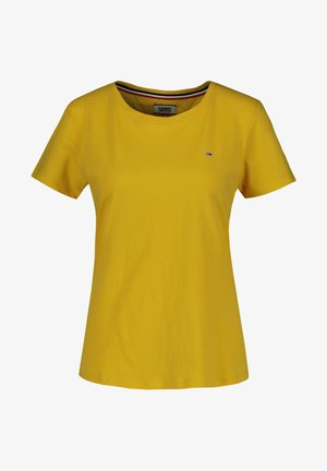 SOFT TEE - Basic T-shirt - gelb