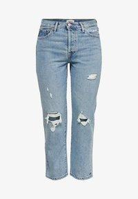 ONLY - Jeans straight leg - light blue denim - 4