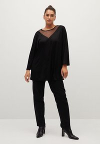 Violeta by Mango - ARACHEL - Long sleeved top - schwarz - 1