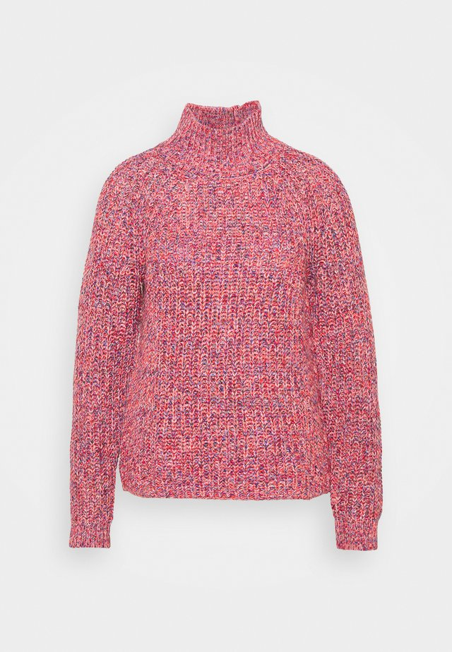 Sweter - red marl