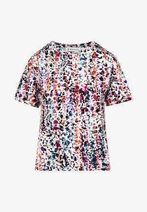 T-shirt print - lilac/blue
