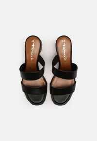 Tamaris - Heeled mules - black - 4