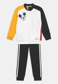 adidas Performance - DISNEY MICKEY MOUSE JOGGER - Tracksuit - white/bold gold/black/vivid red - 0