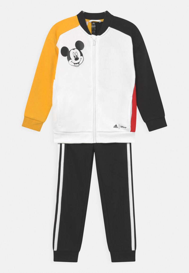 adidas Performance - DISNEY MICKEY MOUSE JOGGER - Tracksuit - white/bold gold/black/vivid red