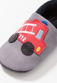 POLOLO - FEUERWEHR - First shoes - graphit nero - 2
