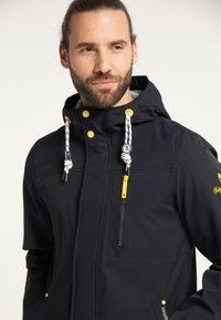 Schmuddelwedda - Waterproof jacket - schwarz - 3