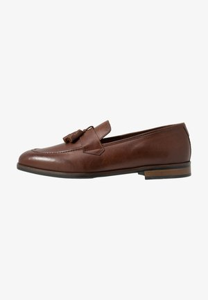 VICENTE - Elegantní nazouvací boty - tan