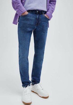 Slim fit -farkut - mottled blue