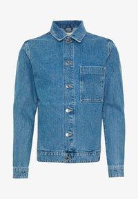 JJITOD JJJACKET  - Denim jacket - blue denim