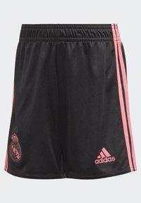 adidas Performance - REAL MADRID AEROREADY MINIKIT - Sports shorts - black - 2