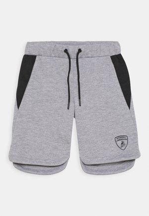 WITH CONTRAST INSERTS - Shorts - grey antares