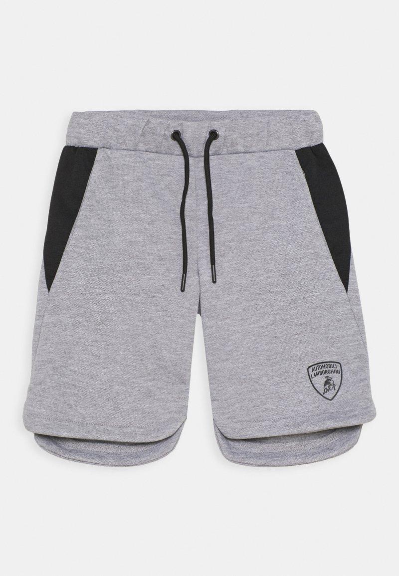 Automobili Lamborghini Kidswear - WITH CONTRAST INSERTS - Shorts - grey antares