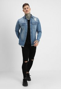 Redefined Rebel - JACKSON JACKET - Koszula - light blue - 1