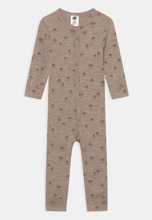 ONESIE BABY UNISEX - Pyjamas - light beige melange