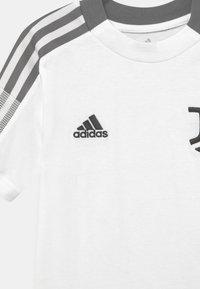 adidas Performance - JUVENTUS TURIN TEE UNISEX - Club wear - core white - 2