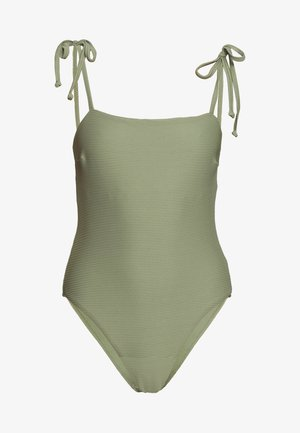 ESSENTIALS CAPSULE ONE PIECE OPTION - Swimsuit - khaki