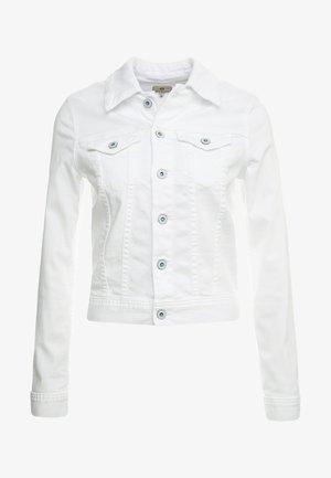 ROBYN - Jeansjacke - white