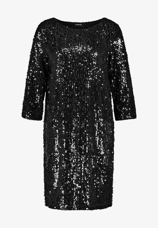 MIT PAILLETTEN - Cocktailkleid/festliches Kleid - black