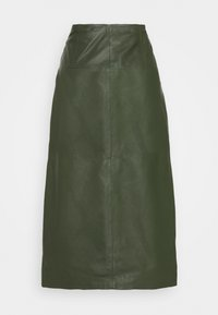Ibana - MARIE - Áčková sukně - khaki - 1