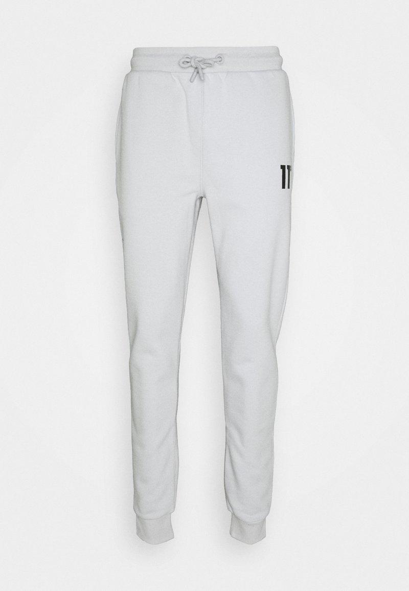 11 DEGREES - CORE JOGGERS SKINNY FIT - Teplákové kalhoty - vapour grey