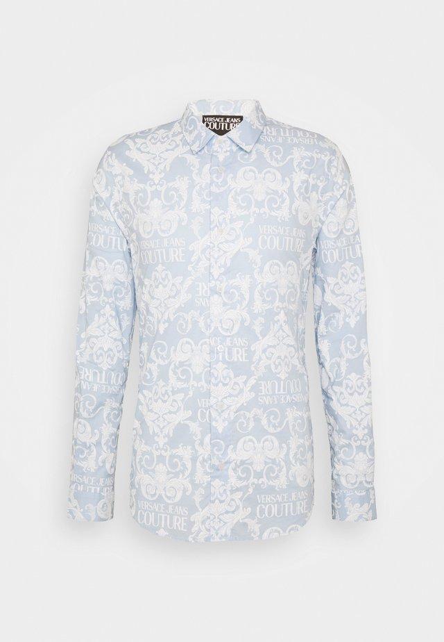 SHIRTING PRINT LOGO - Skjorte - blue