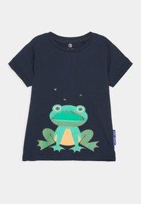 Lemon Beret - SMALL BOYS - Print T-shirt - dress blues - 0