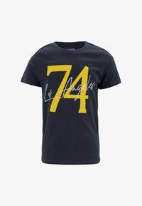DeFacto - Print T-shirt - anthracite - 0