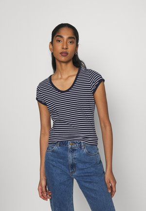 CORE EYBEN SLIM - T-shirts basic - sartho blue