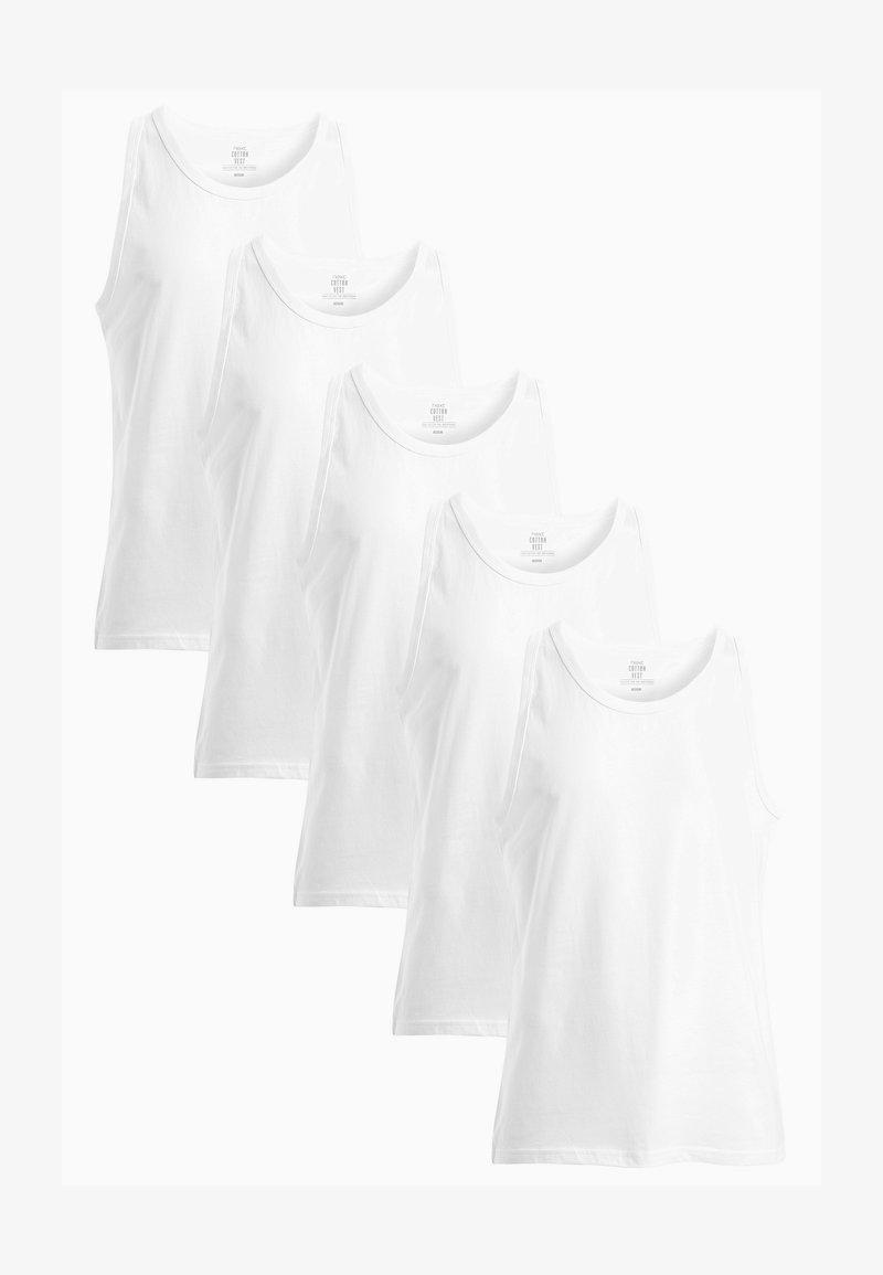 Next - 5 PACK - Undershirt - white