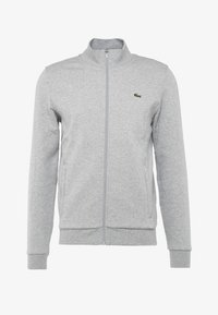 Lacoste Sport - JACKET - Mikina na zip - silver chine - 5