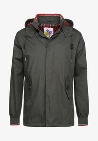 HARRINGTON - MICK HOODED - Summer jacket - kaki - 3