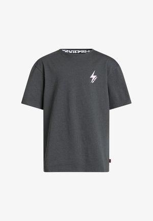 T-shirt print - dark grey