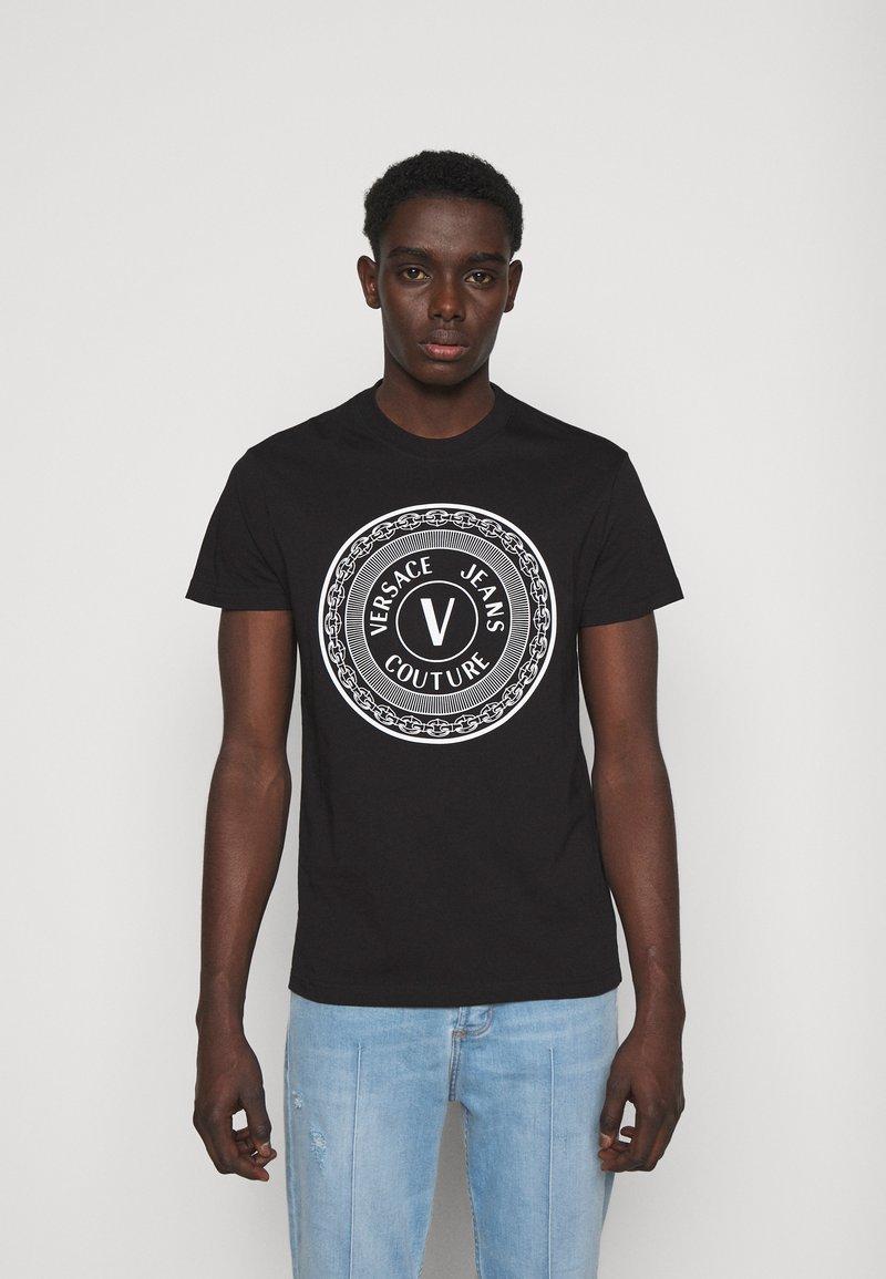 Versace Jeans Couture - MOUSE - Camiseta estampada - black